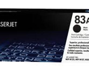 83A Black Original LaserJet Toner Cartridge, CF283A slika