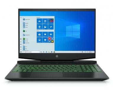 "Pavilion Gaming 15-DK0056 15.6"" FHD i5-9300H 8GB 256GB SSD GeForce GTX 1650 Backlit Win10Home crni (6WC31UA) slika"