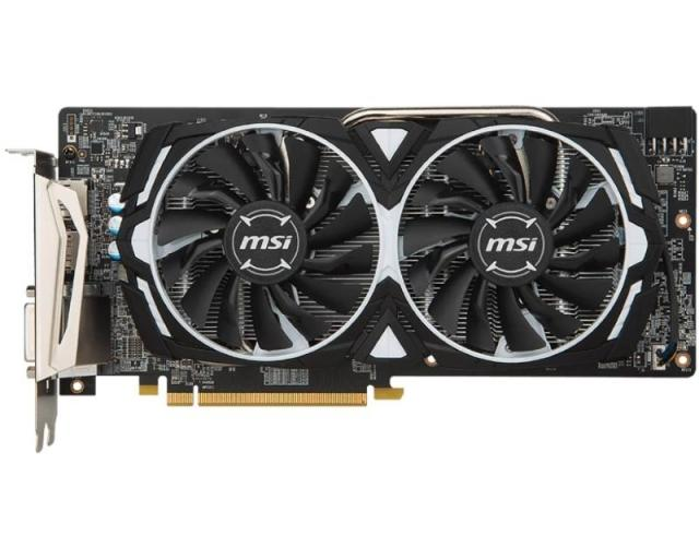 MSI AMD Radeon RX 480 4GB 256bit RX 480 ARMOR 4G OC bulk - Grafičke karte /  Outlet
